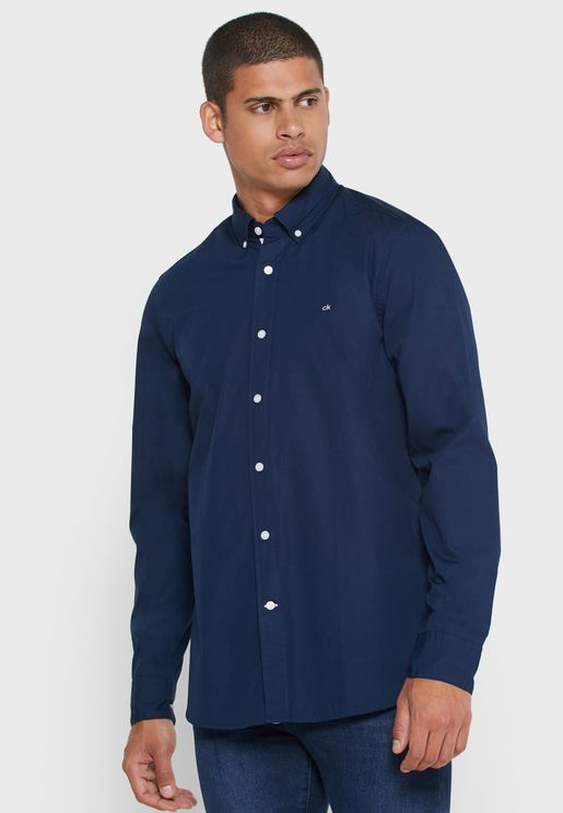 Organic Poplin Shirt