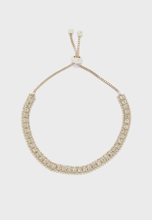 Tennis Lariat Bracelet