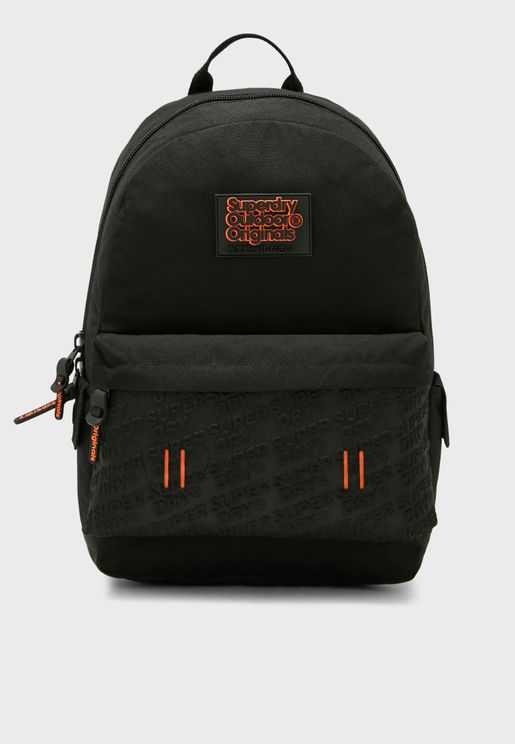Neoprene Embossed Panel Backpack