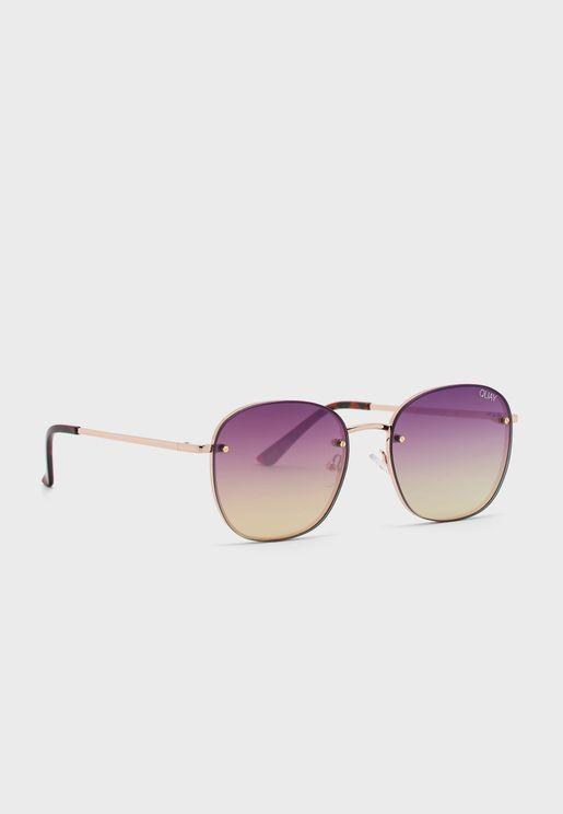 نظارة شمسية بعدسات من دون اطار