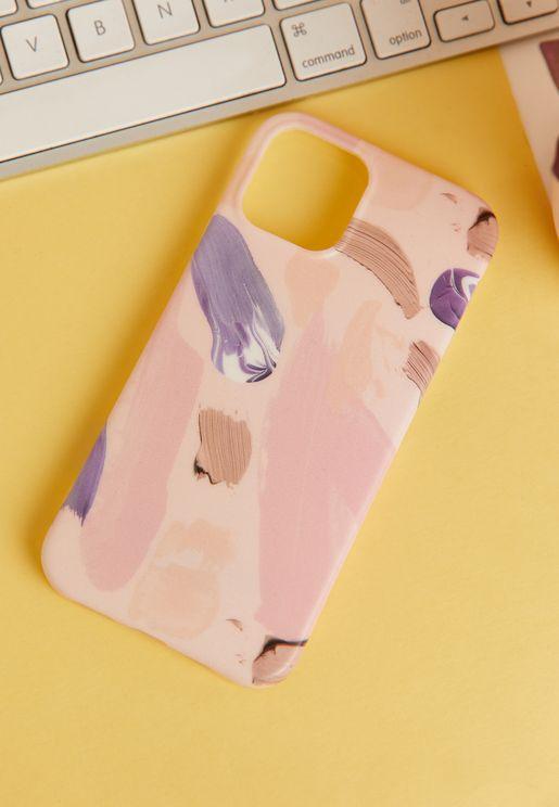 Lilac Brush Iphone 12/12 Pro Case