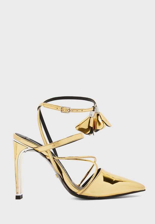Louise Ankle Strap High Heel Pump