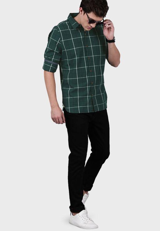 قميص مربعات من فيرات كوهلي