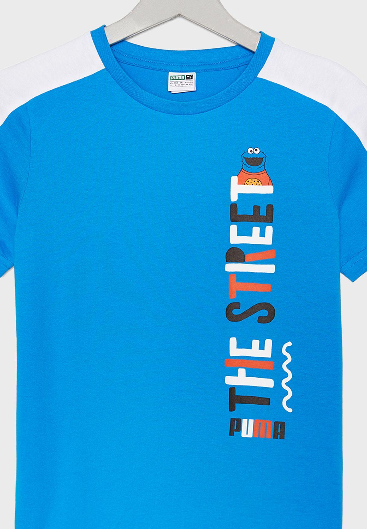Kids Sesame Street T-Shirt