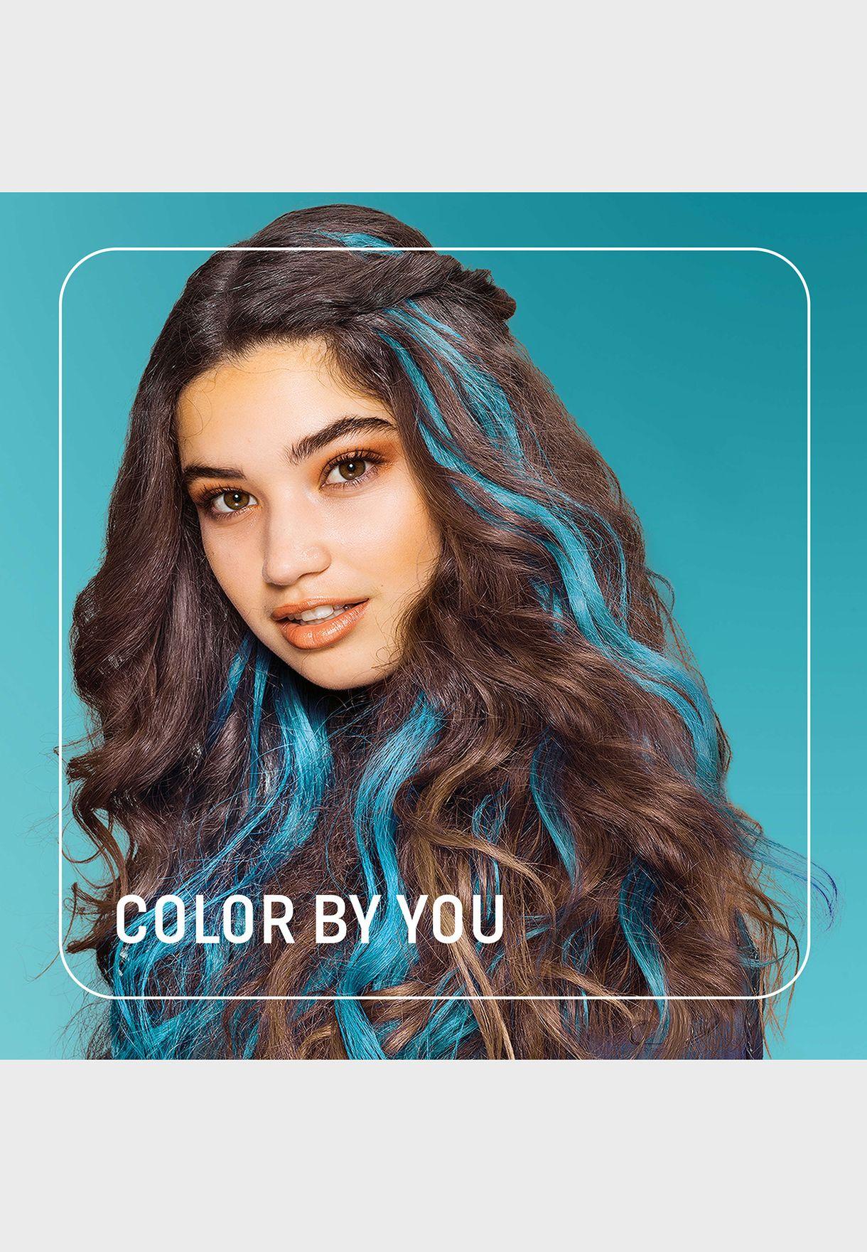 صبغ شعر ازرق