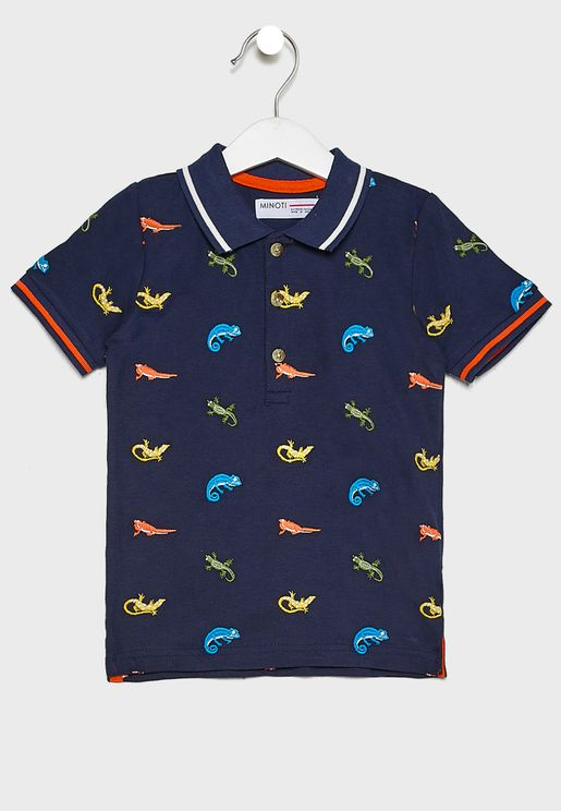 Infant Printed Polo
