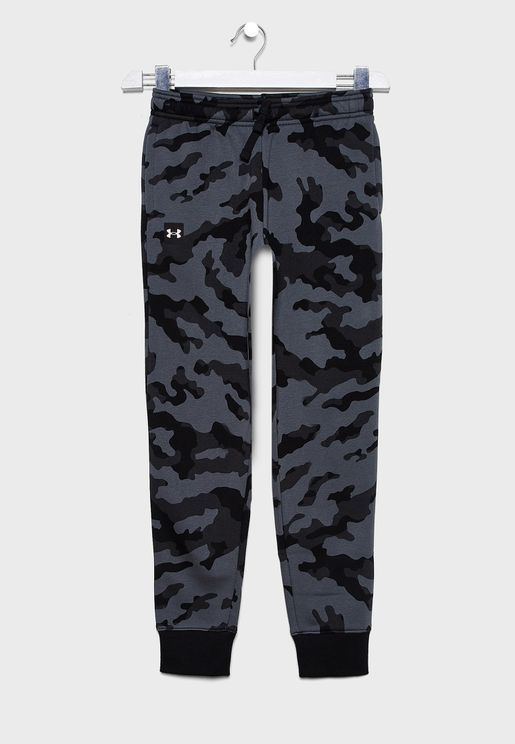 Youth Rival Fleece Printed Sweatpants