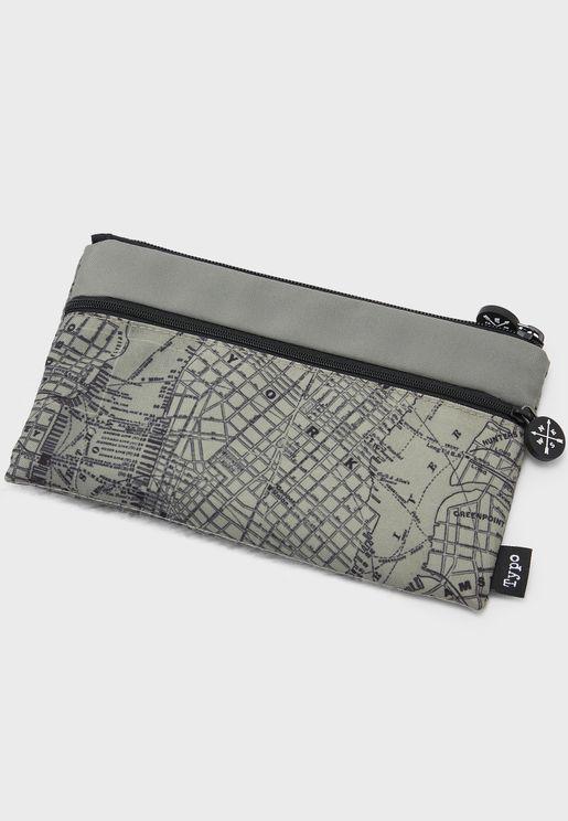 Map Print Archer Pencil Case