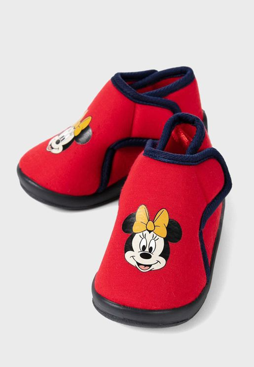 Infant Mickey Mouse Slip Ons