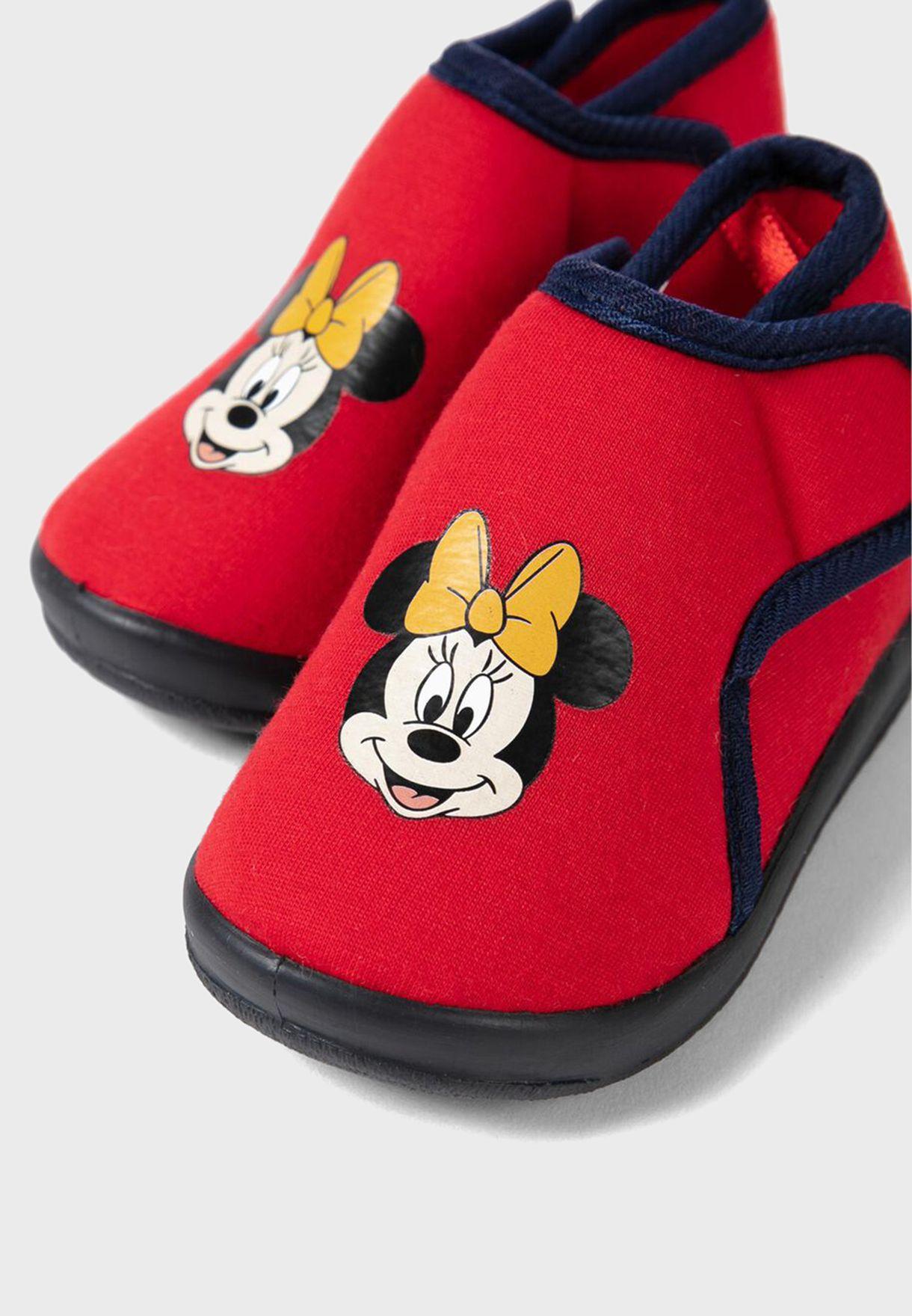 حذاء ميني ماوس للبيبي
