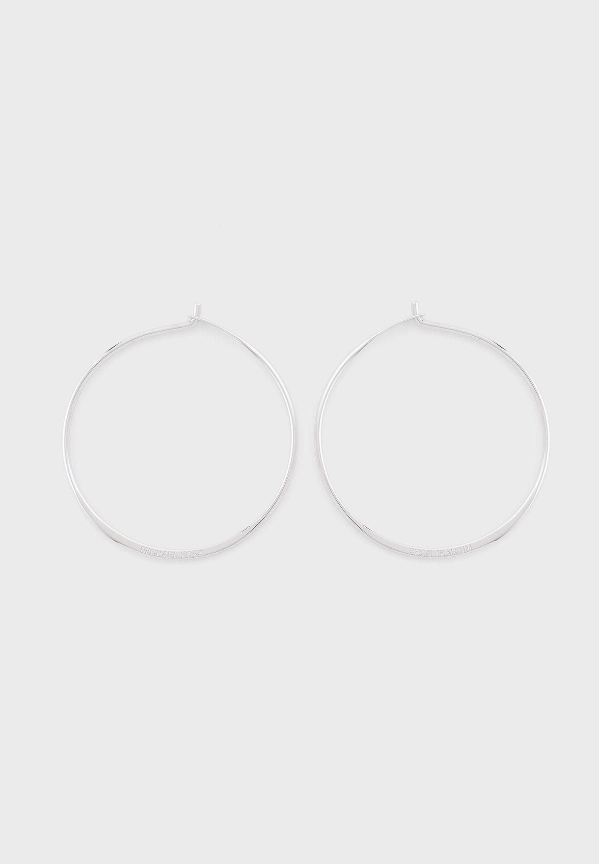 Circle Hoop Earring