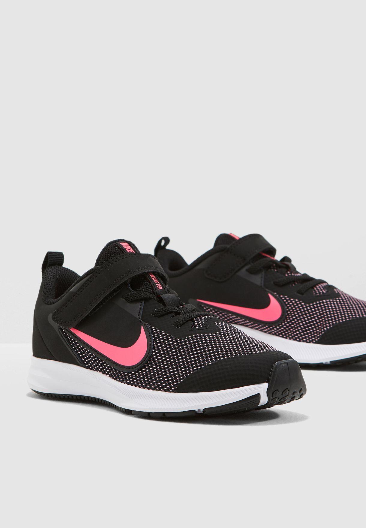 ab83edc8bed1 Shop Nike black Kids Downshifter 9 AR4138-003 for Kids in UAE ...