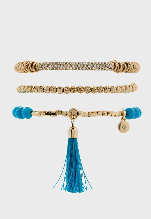 Carnival Trio Bracelet