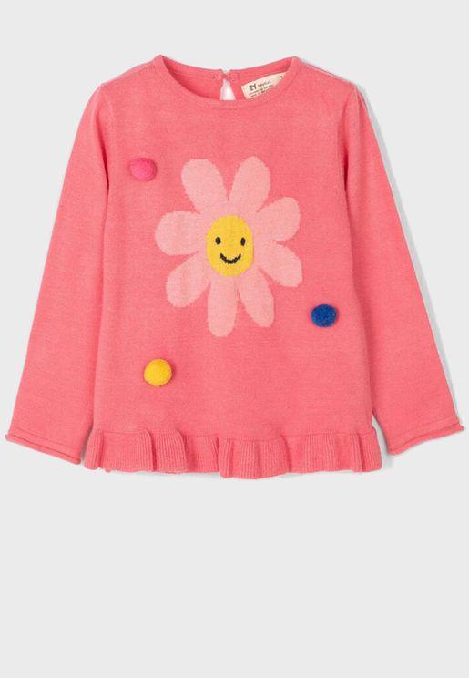 Infant Hem Details Sweatshirt