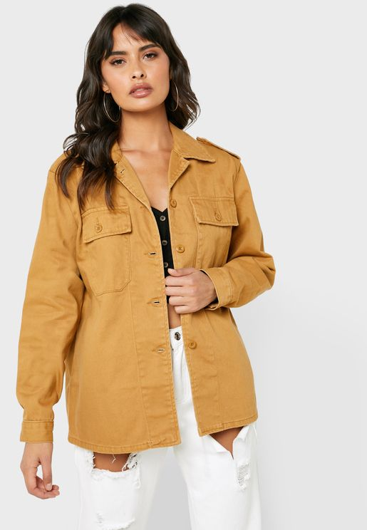 Button Down Oversized Jacket