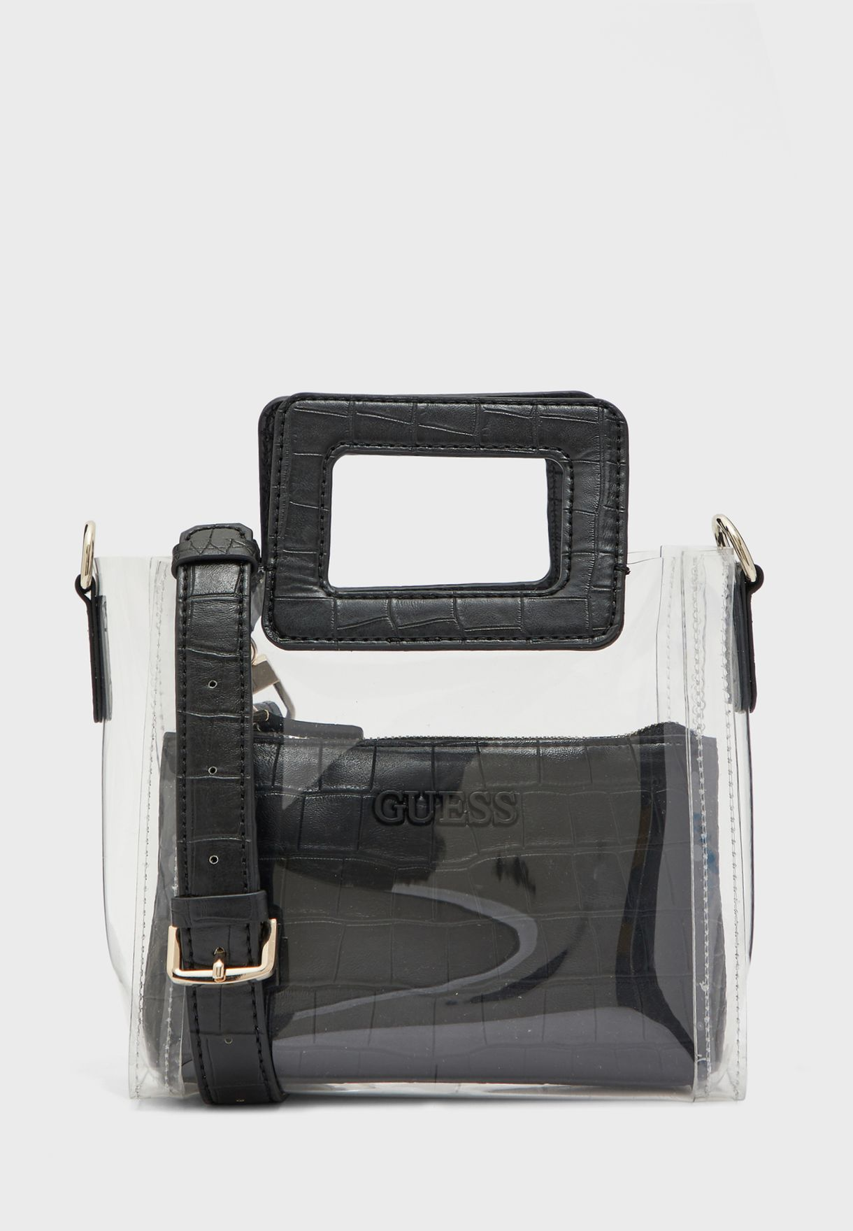 Triple G Square Handle Satchel