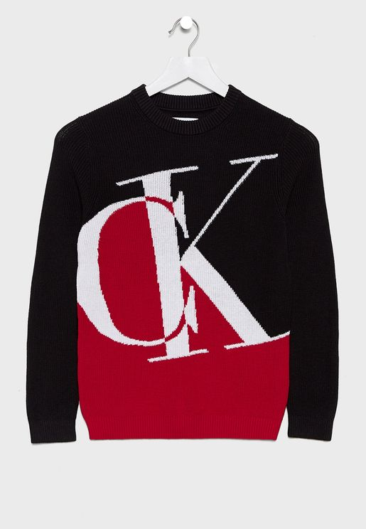 Kids Monogram Sweater