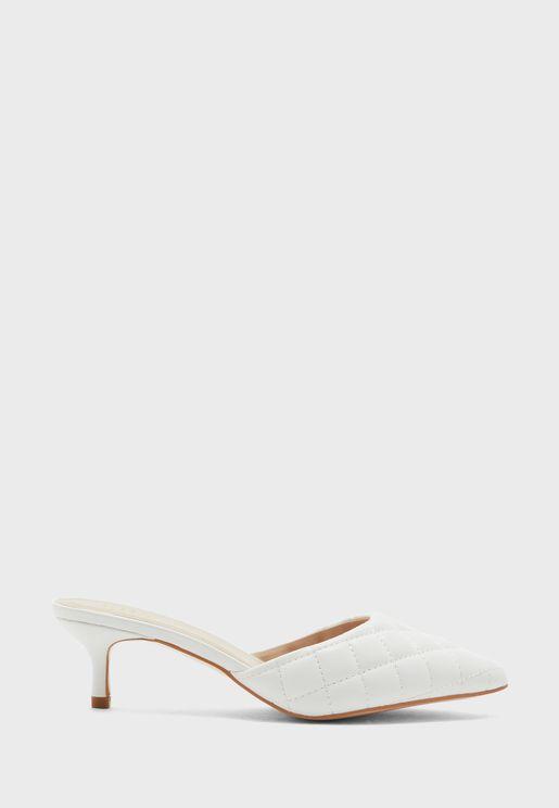 حذاء بكعب عالي سهل الارتداء