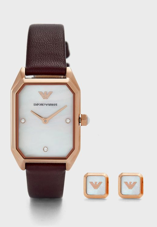AR80028 Gioia Analog Watch