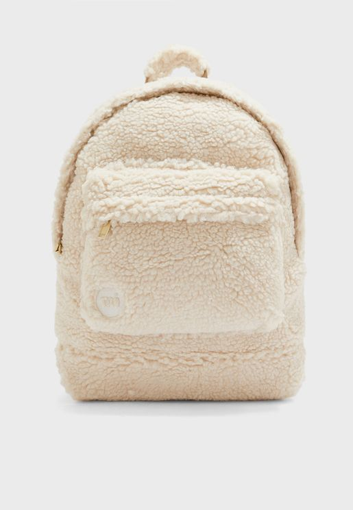 Shearling Backpack