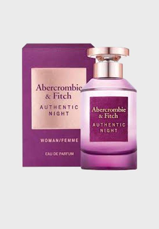 Authentic Night Women Eau de Parfum 100ml