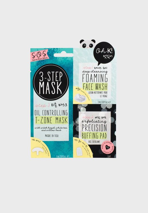SOS 3-Step Blemish Solution Mask