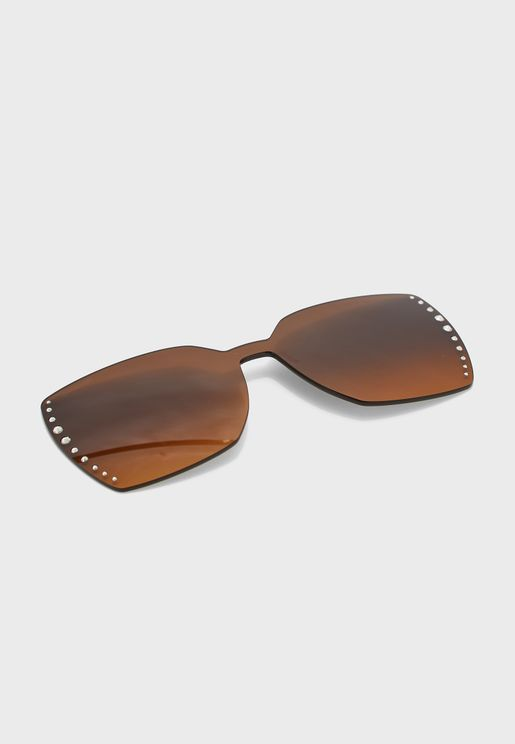 SK5328-CL Oversized Sunglasses