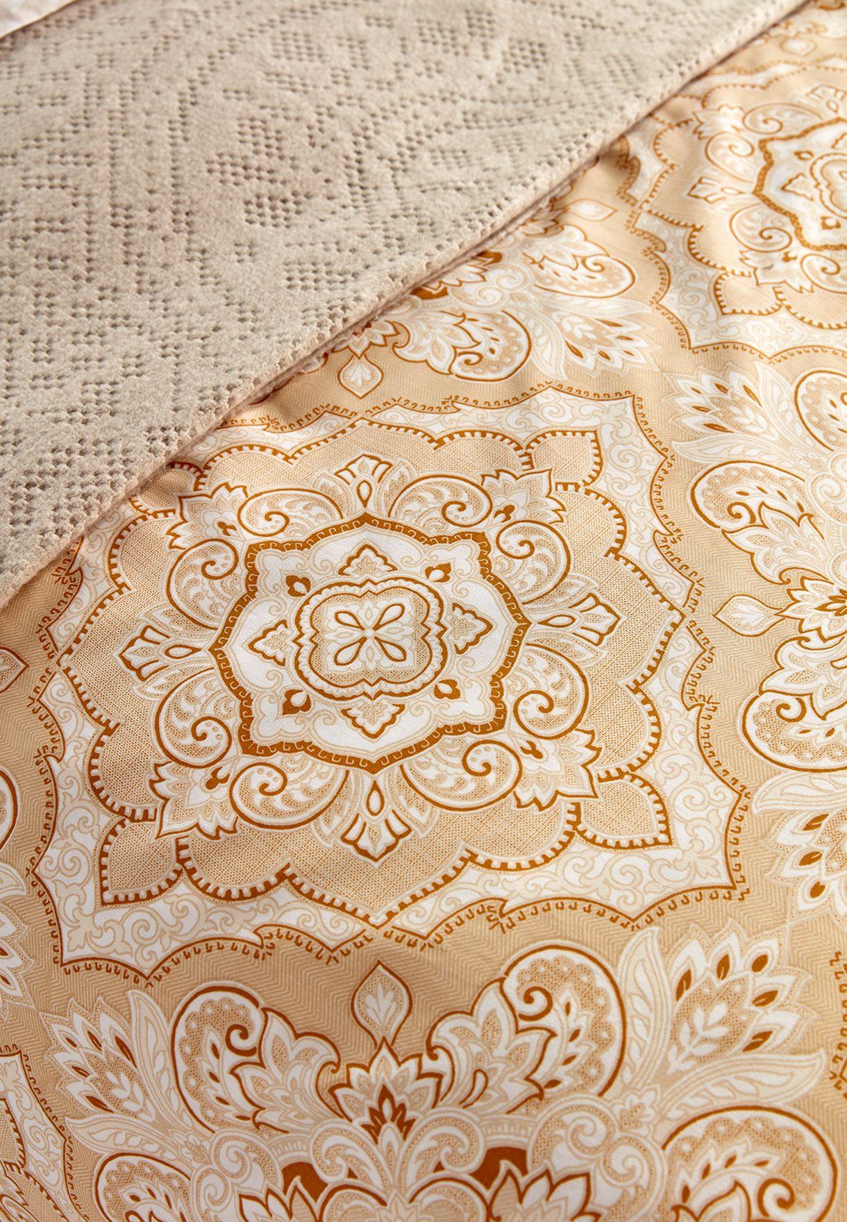 غطاء لحاف سوبر كينغ بتصميم مغربي