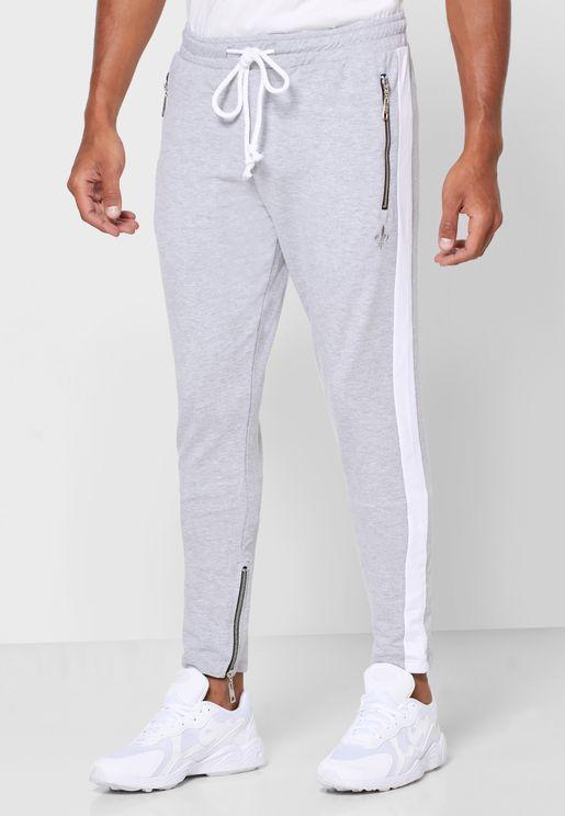 Camden Zip Detail Sweatpants