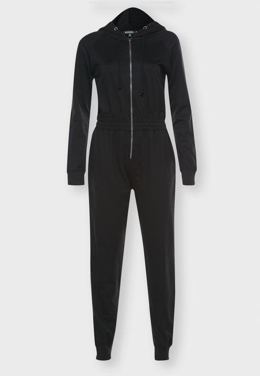 Hooded Jumpsuit