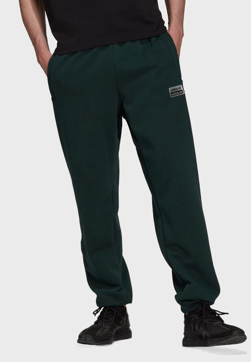 Abstract Cuffed Sweatpants