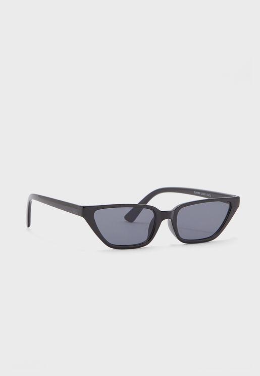 Slim Catseye Sunglasses