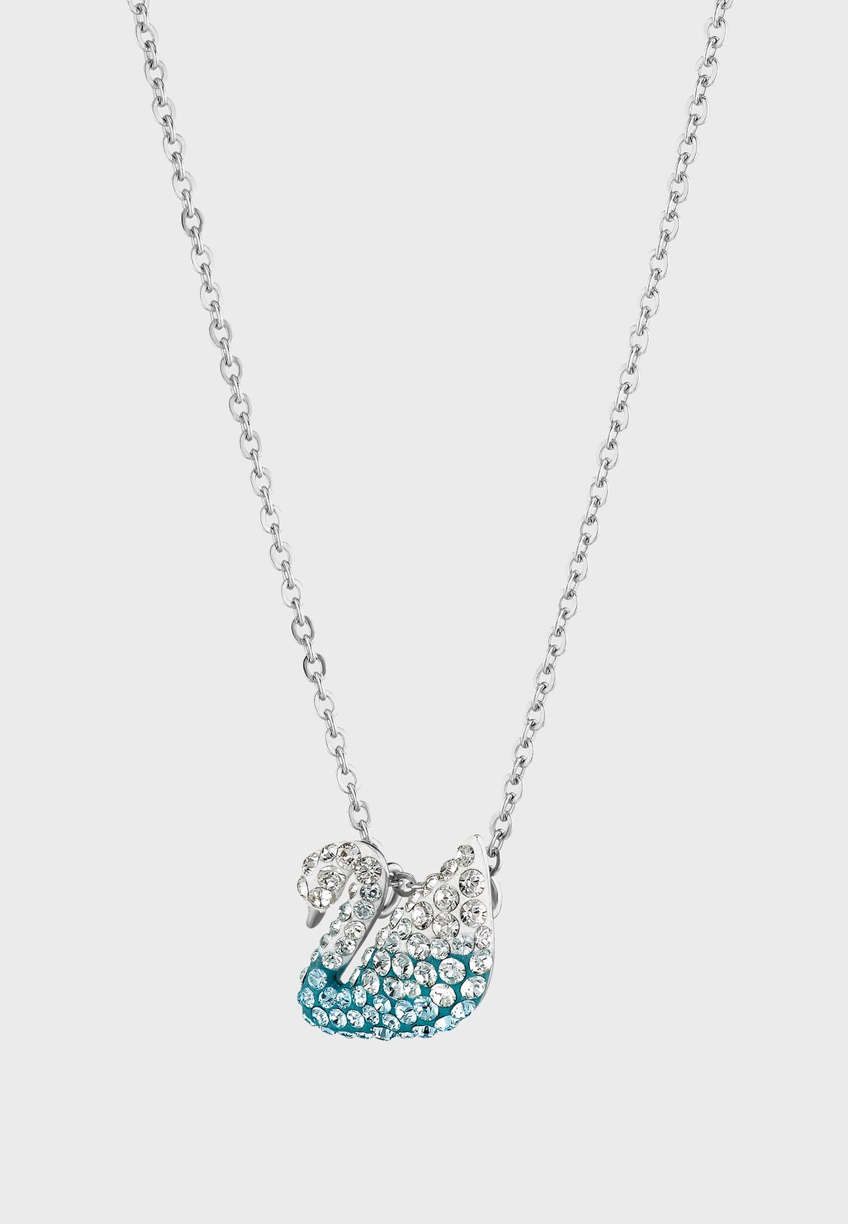 Iconic Swan Pendant Necklace