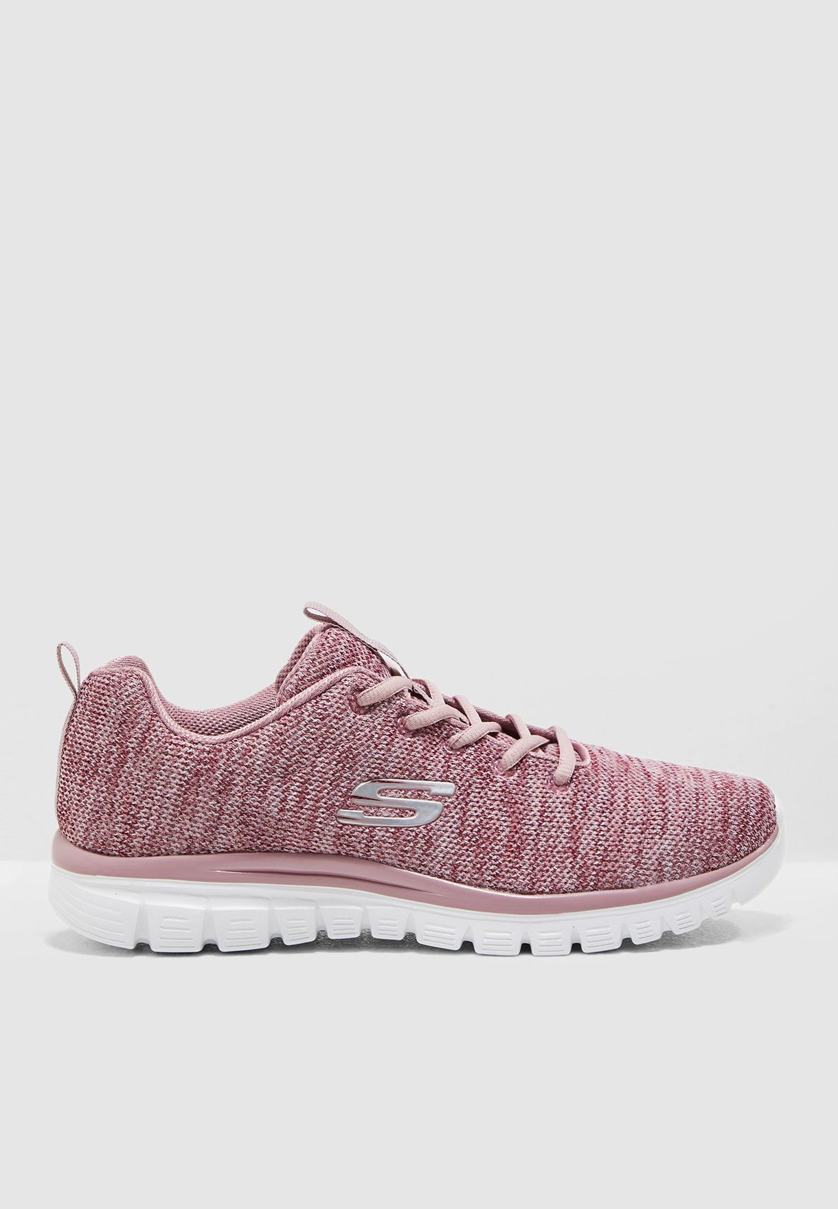 Shop Skechers pink Graceful 12614-MVE