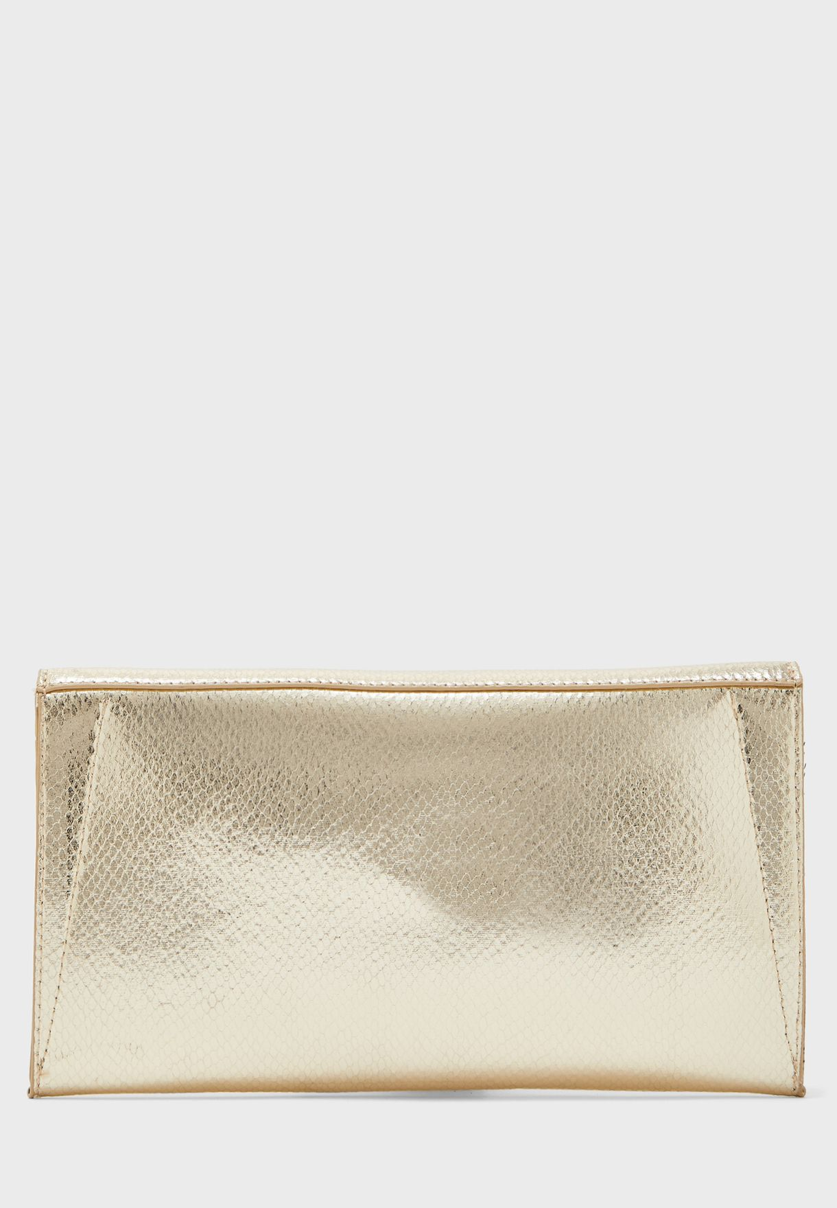 Ring Detail Envelope Crossbody