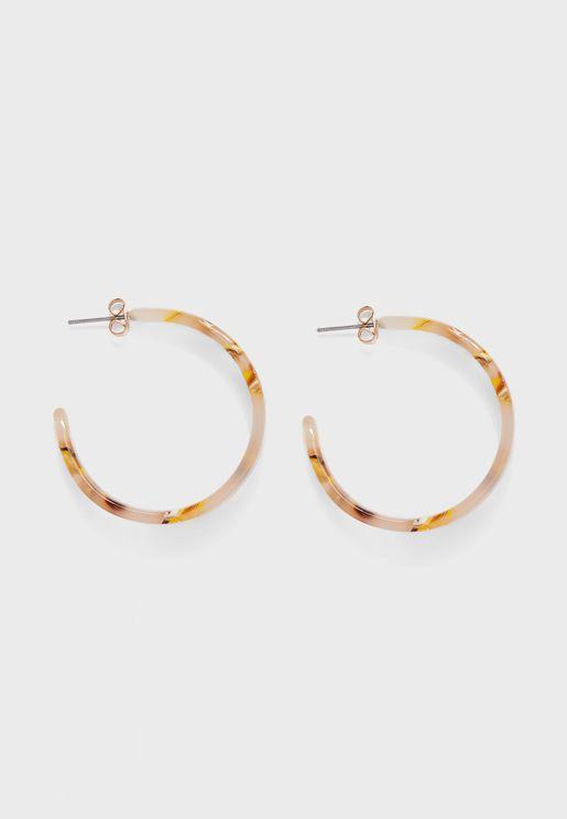 Naliana Hoop Earrings