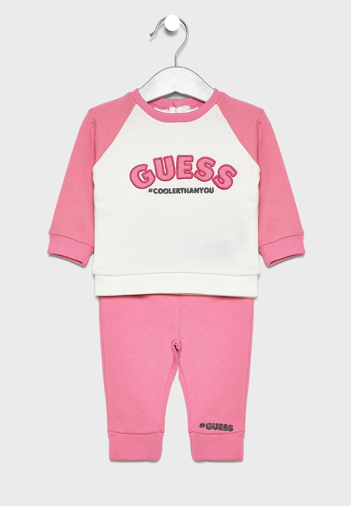 Infant Color Block Tracksuit