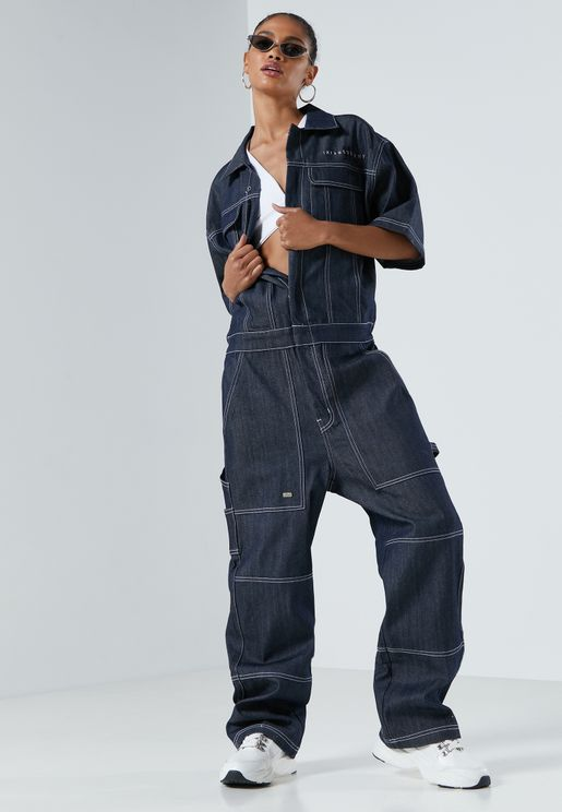 Nite Marauder Denim Jumpsuit