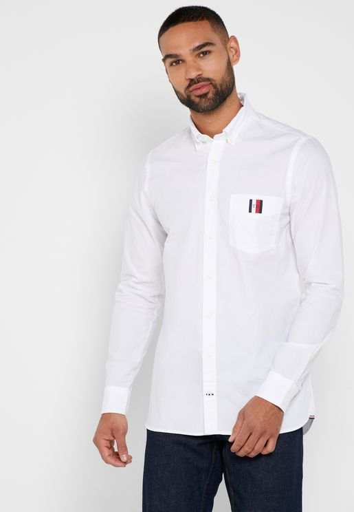 80'S Two Ply Slim Fit Shirt