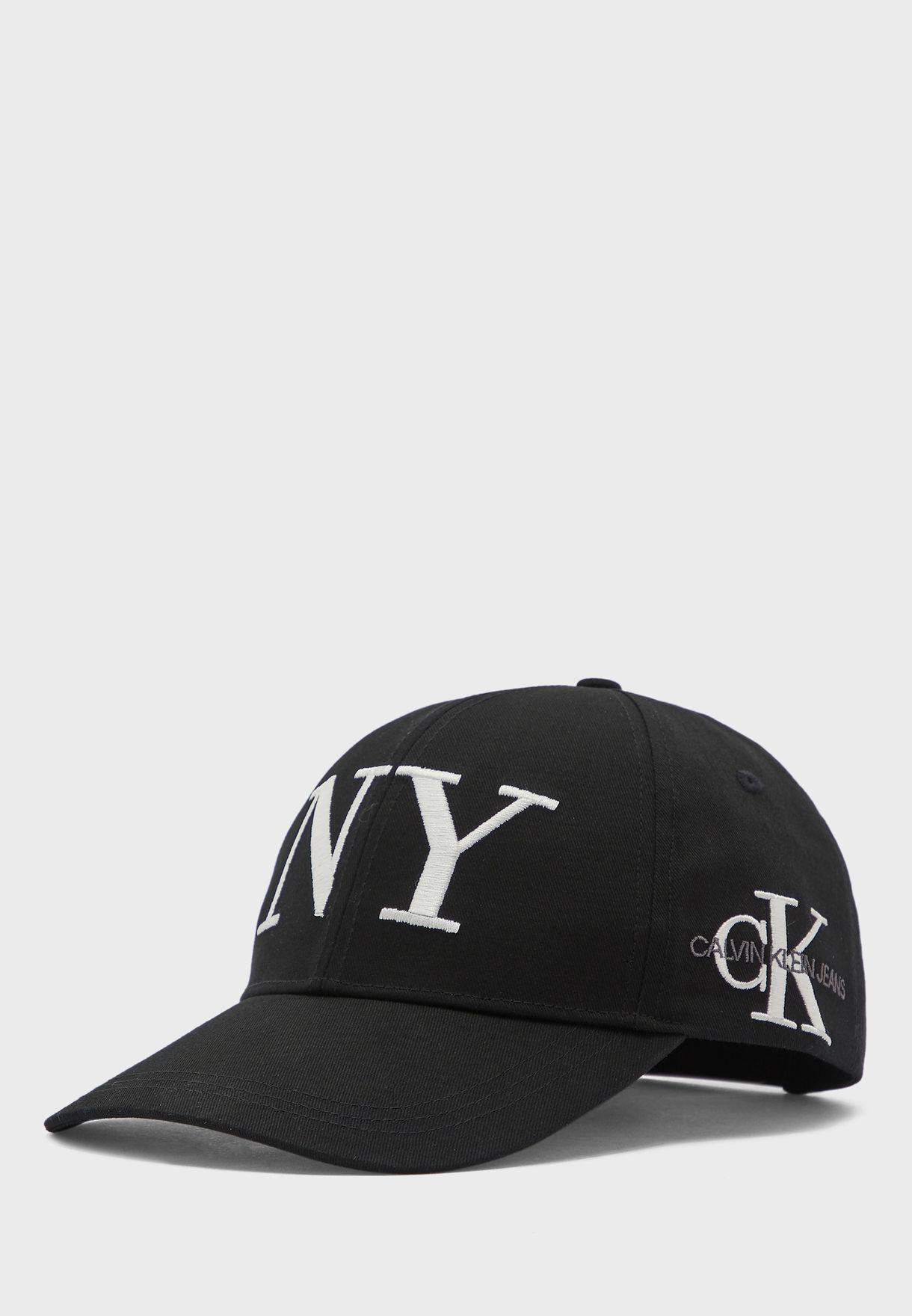 Embroidered Logo Curved Peak Cap