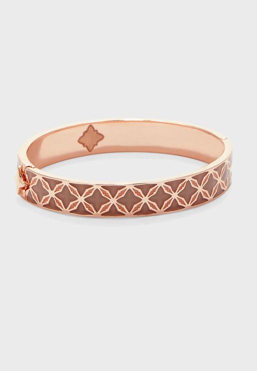 Bozena Hinge Cuff Bracelet