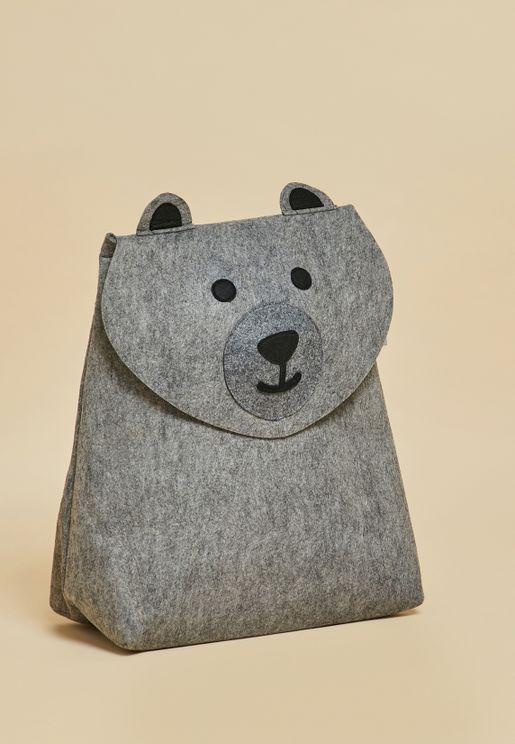 Bear Laundry Storage Basket