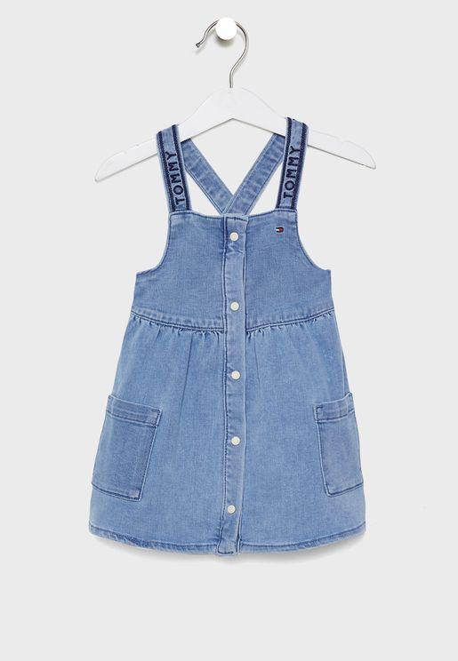 Kids Pinafore Dress