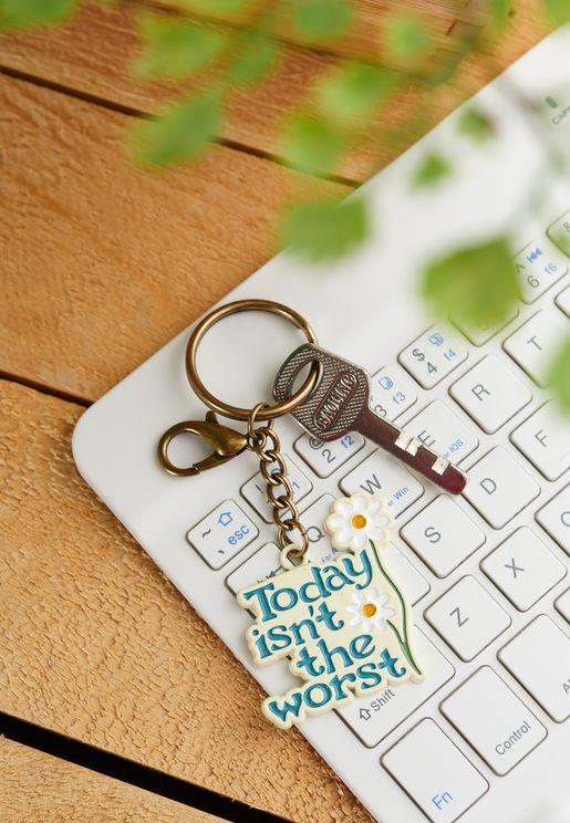 حلقة مفاتيح ملونة