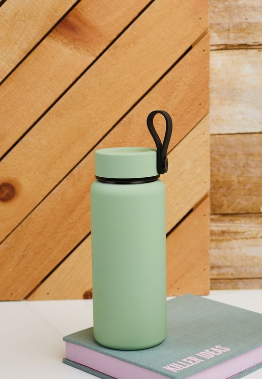 Ally Green On The Move Metal Drink Bottle 350Ml