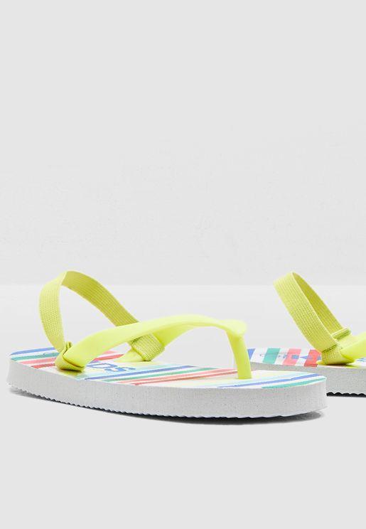 Kids Rainbow Stripe Slyde