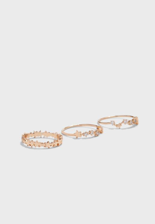 Pradella Rings Set