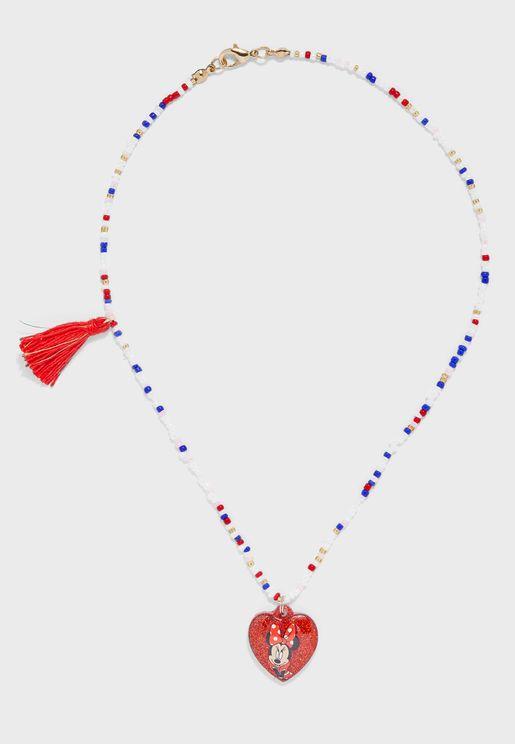Kids Heart Pendant Necklace