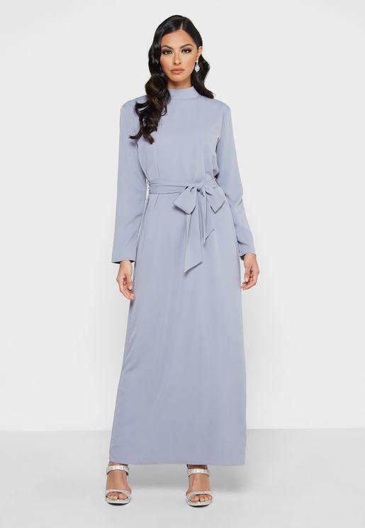 Soft Belted Dress