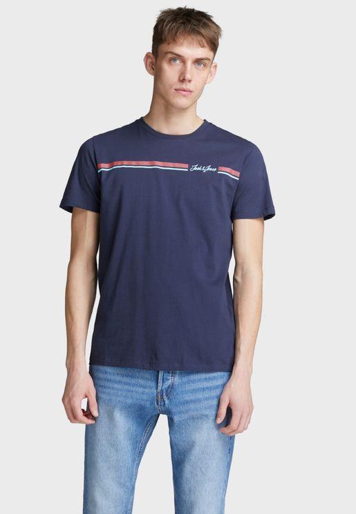 Davis Crew Neck T- Shirt